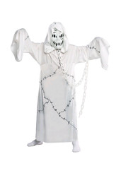Children's Cool Ghoul Halloween Ghost Costume - age 5-7
