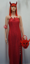 Hire - Saucy Devil, Ladies Red Devil Costume