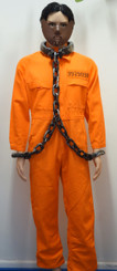 Hannibal Lector/Orange Convict Costume for Hire from The Littlest Costume Shop, Melbourne