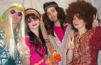 Hippy Costumes for Hire from The Littlest Costume Shop, Preston