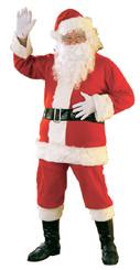 Flannel Santa Suit. Standard Size