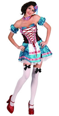 Beer Girl, Oktoberfest Costume