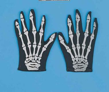 Skeleton Costume Gloves