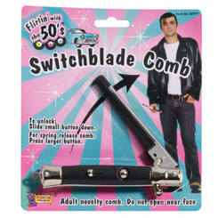 Rock n Roll 50's switchblade comb