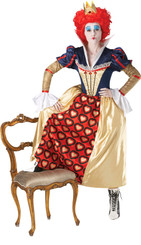 Queen of Hearts Costume - Size 14-16