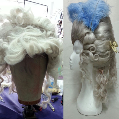 Marie Antoinette before and  after