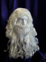 Restyled Santa Wig and Beard