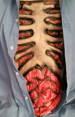 Zombie Latex Ribs and Guts
