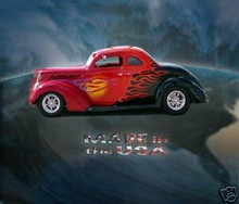 Ford Street Rod Fine Art Quality Aluminum Panel