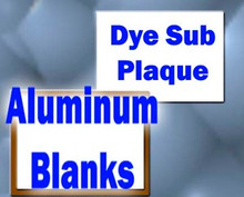"3.5"" X 5"" Dye Sublimation Award Plaque Blanks"