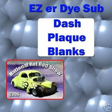 "2-3/4""x 4"" Dye Sublimation  Dash Plaque Blanks LOT OF 5"