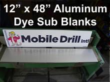 "12"" x 48"" Aluminum Photography Blank - 10PC Minimum"