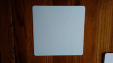 "12"" X 12"" Aluminum Sublimation Blanks with 1/2"" Radius Corners, No Holes"