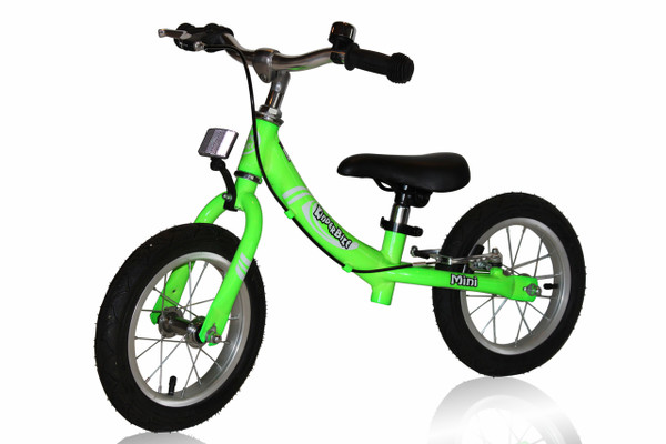 2016 KinderBike Mini Trainers.  Available in red, green, blue and yellow.  Choose desired color from the drop down box.