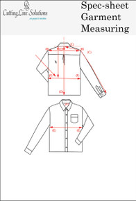 Spec-Sheet Garment Measuring