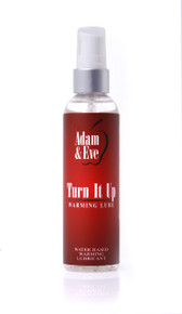ADAM & EVE TURN IT UP WARMING LUBE 4OZ
