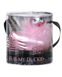 I RUB MY DUCKIE PINK TRAVEL SIZE