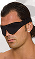 POLYESTER BLINDFOLD BLACK