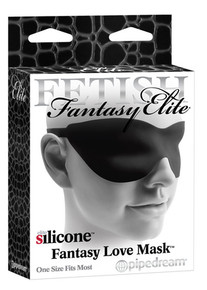 FETISH FANTASY ELITE FANTASY LOVE MASK BLACK