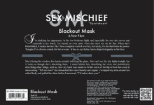 SEX & MISCHIEF BLACKOUT MASK