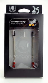 ADJ CLAMP W/RED BEADS