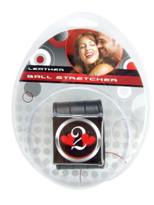 H2H BALL STRETCHER LEATHER 1.5IN BLACK