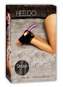 HEELDO FOOT HARNESS HIS L/XL BLACK (NET)