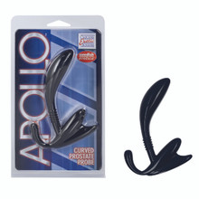 APOLLO CURVED PROSTATE PROBE BLACK