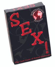 INTERNATIONAL SEX CARD GAME