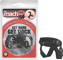 MACHO COLLECTION V STYLE COCK RING & BALL DIVIDER