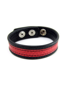 H2H COCK RING SNAKE SKIN RED (WD)