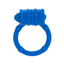 POSH SILICONE VIBRO RING BLUE