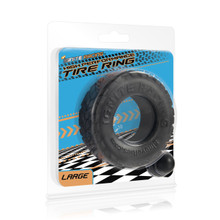 HIGH PERFORMANCE TIRE RING LARGE BLACK