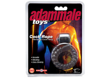 ADAM MALE TOYS COCK ROPE VIBRATING COCKRING