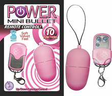 POWER MINI BULLET REMOTE CONTROL PINK