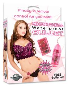 WATERPROOF REMOTE CONTROL BULLET PINK