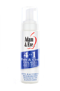 ADAM & EVE PURE & CLEAN FOAMING TOY CLEANER 8OZ