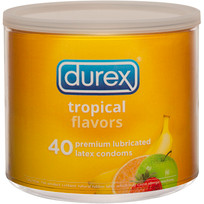 DUREX TROPICAL 40PC BOWL