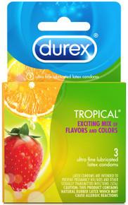 DUREX TROPICAL 3 PACK