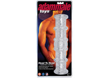 ADAM MALE TOYS HEAD TO HEAD CYBERSKIN STROKER