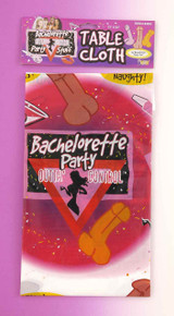 BACHELORETTE PARTY TABLECLOTH