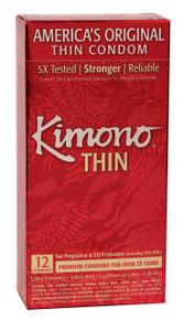 KIMONO LUBRICATED CONDOM 12 PK
