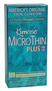 KIMONO MICROTHIN W/AQUA LUBE 12PK