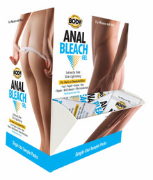 BODY ACTION ANAL BLEACH 50PC DISPLAY