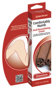 COMFORTABLY NUMB ANAL DESENSITIZING CREAM CINNAMON 1.5
