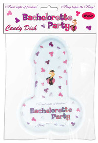 BACHELORETTE PARTY PECKER CANDY TRAY