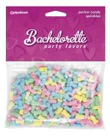 BACHELORETTE PECKER CAKE SPRINKLES