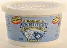 BOY BUTTER H20 8.OZ CONTAINER
