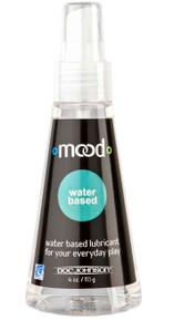 MOOD WATER BASED LUBE 4 OZ (BU)