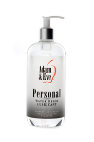 ADAM & EVE PERSONAL WATER BASED LUBE 16 OZ